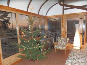 Chata Meduňka - Zimní zahrada - vánoce, Silvestr