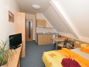 Areál Skiland - hotelový pokoj