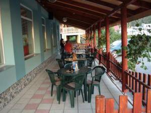 Motel Šofér - terasa
