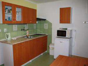 Ubytování U Janečků - Kuchyňvv 1. patře, další kuchyň v přízemí