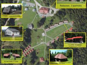Královec - rekreační středisko - Královec - pohled shora