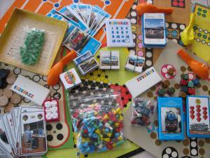 Chalupa - Bílé Poličany - některé z her na chalupě