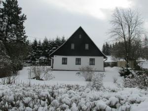 Chaloupka Rudná - potůčková - zima Chaloupka 2