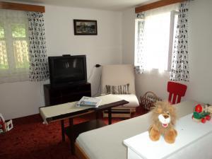 Chaloupka Rudná - potůčková - obývací pokoj