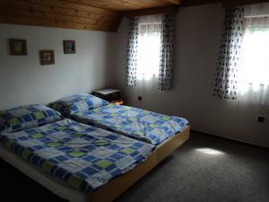 Chaloupka Rudná - potůčková - ložnice 2