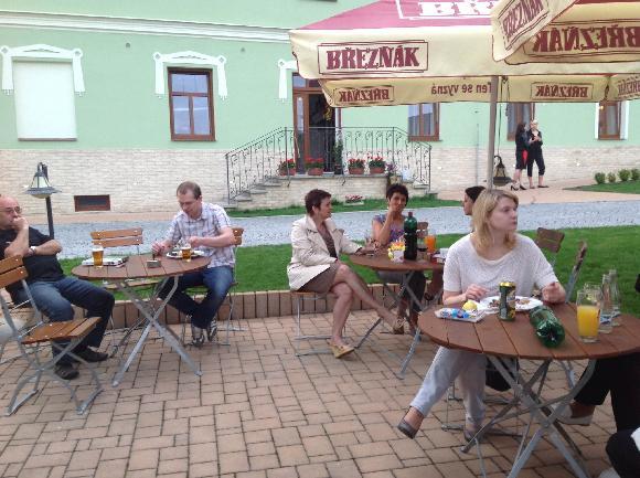 Ubytování na statku v Českém středohoří
