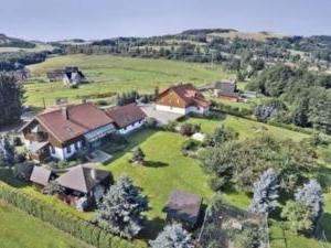 Pension Jitka   - Pension Jitka, Šimonovice - letecký pohled na pension