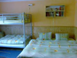 Chalupa Rajnochovice - Pokoj č.4 - manželské dvojlůžko + patrová postel.