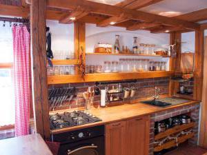 Chalupa Střítež - kuchyň