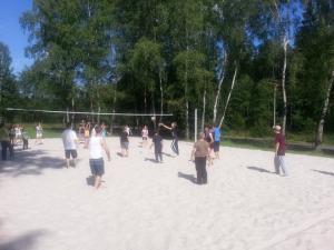 Penzion U Skály - Volejbalové hřiště