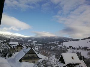 Apartmány Karásková - Krásný výhled na Krkonoše přímo od domu