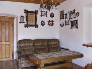 Chalupa Pod Rozhlednou - obývací pokoj v ubytování na chalupě pod rozhledno