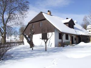 Chalupa Pod Rozhlednou - v zimě