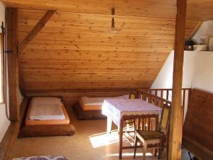Chalupa Pod Rozhlednou - ložnice na chalupě u Sviňovic