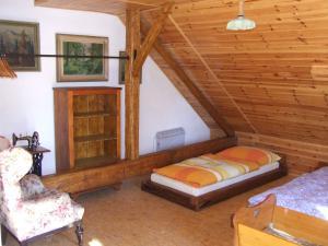 Chalupa Pod Rozhlednou - ubytování - ložnice