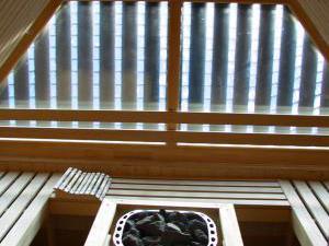 Zážitkový penzión Jánošíkov dvor - fínska sauna