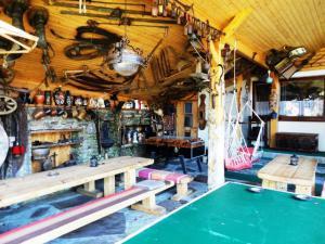 Rodinny penzion Alpinka - Zastrešena terasa-minimuzeum