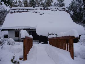 Horská chalupa U Kožešníků - Trocha sněhu