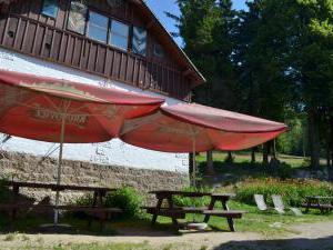 Horská chata Barbora - Venkovní posezení