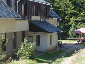 Horská chata Barbora - Příchod směrem od Horního Maxova