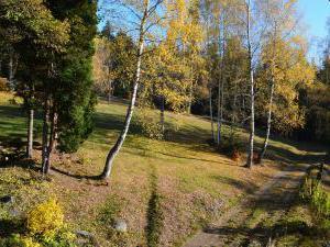 Horská chata Barbora - Zahrada, podzim