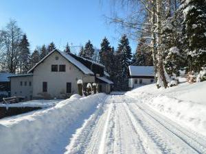 Horská chata Barbora - Barbora příchod, zima