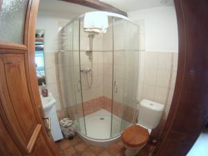 Penzion Stará škola - Dějepis koupelna