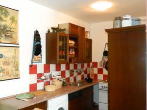 Penzion Stará škola - Společenská místnost sborovna -kuchyňka
