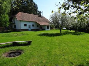 Třeboňsko - CHKO - Objekt Hamr-kosky pro 11 osob, pohled ze zahrady