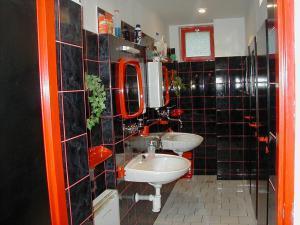 Třeboňsko - CHKO - Chata Bára koupelna