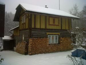 Chalupa Janské Lázně - horská chalupa Janské Lázně v zimě