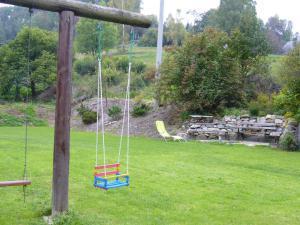 Chalupa pod strání - zahrada