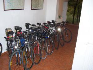 Penzion u Radnice - místo pro vaše kola,ubytování v penzionu u Radnice