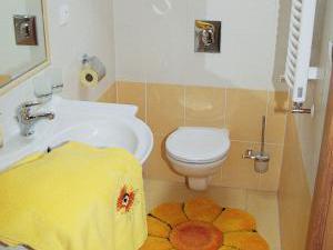 Penzion u Radnice - koupelna,ubytování v penzionu u Radnice Třeboňsko