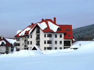 M+M apartmán - komplex v zimě