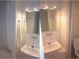 Apartmány V Centru U Zámečku - Koupelna k prvnímu apartmánu v Sokolově