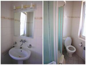 Apartmány V Centru U Zámečku - Koupelna k druhému apartmánu v Sokolově