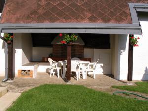 Ubytování Holcovi - Venkovní posezení v zahradě