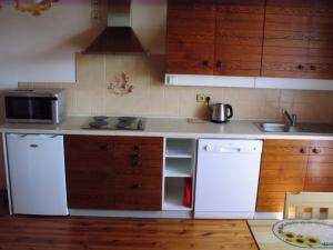 Ubytování Holcovi - Kuhyňský kout v apartmánu