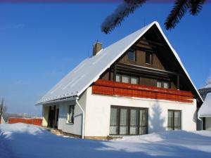 Ubytování Holcovi - V zimě