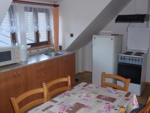 Chalupa - podkrovní byt - kuchyně