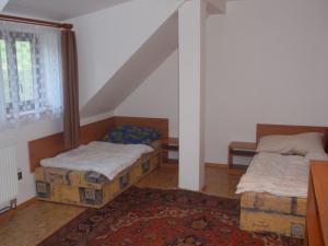 Chalupa - podkrovní byt - ložnice