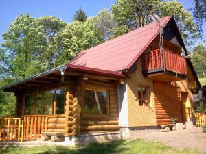 Chata Janovičky v CHKO Broumovsko