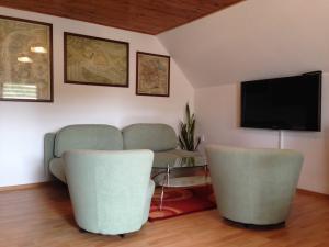 Apartment U Anděla - Obývací místnost