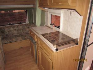 Karavan - Kuchyň