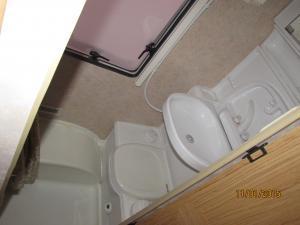Karavan - Koupelna