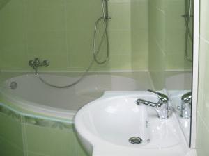 UBYTOVÁNÍ NA VYHLÍDCE - Ubytování Na Vyhlídce - koupelna apartmanu
