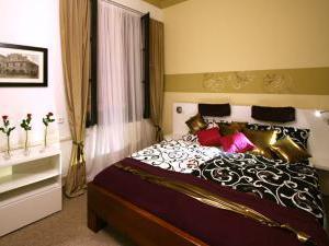 Hotel Bílý koníček - Pokoj v hotelu v Třeboni