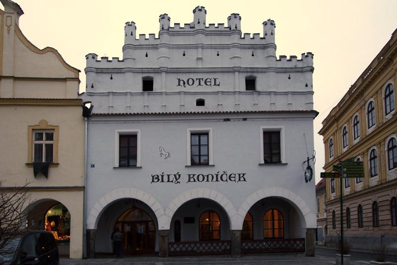 Hotel bílý koníček v Třeboni