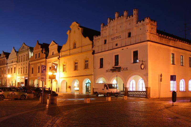 Hotel bílý koníček v Třeboni- Ubytování Jižní čech
